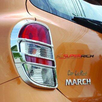 TFP ครอบไฟท้ายโครเมี่ยม (Tail Lamp Cover) / MARCH'10