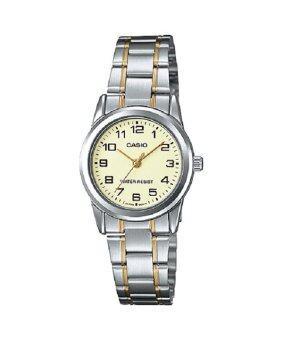 Casio Standard นาฬิกาข้อมือ คาสิโอ รุ่น LTP-V001SG-9B - Silver/Gold