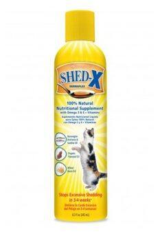 Shed-x Dermaplex อาหารเสริมแก้ปัญหาขนร่วงของแมว ขนาด 8oz