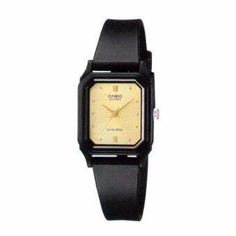 Casio Standard นาฬิกาข้อมือผู้หญิง สายเรซิน รุ่นLQ-142E-9ADF (Black)