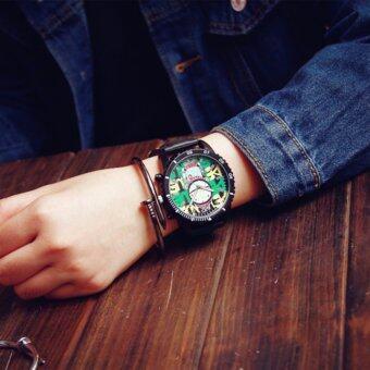 Ccjeans Jis Art Watch นาฬิกาลายการ์ตูน หน้าปัดตัวการ์ตูน