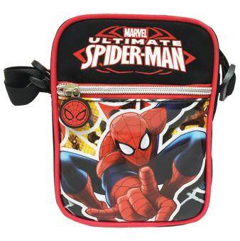 MARVEL กระเป๋าสะพายข้าง SPIDER MAN (สีดำ) SPM31 308