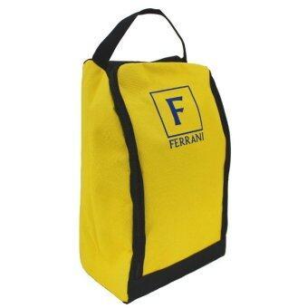 FERRANI กระเป๋าใส่รองเท้า (สีเหลือง)