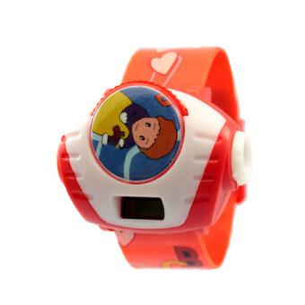 B-Watch นาฬิกาแฟชั่น ดิจิตอล สีแดง สายพลาสติก