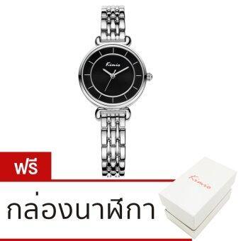 Kimio นาฬิกาข้อมือผู้หญิง สีเงิน สายแสตนเลส รุ่น KW6028S-SB02