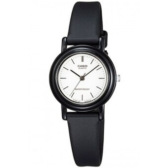Casio Standard นาฬิกาข้อมือ ผู้หญิง รุ่น LQ-139BMV-7EDF (สีดำ / ขาว)