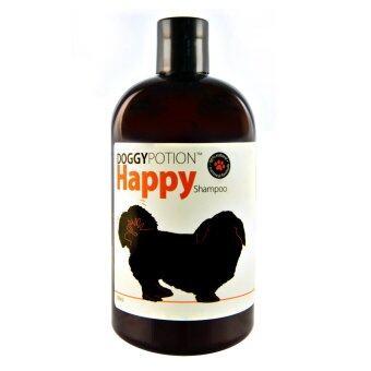 Doggy Potion Happy Shampoo แชมพูสุนัข สูตร Happy(กลิ่นคาริเบี่ยน) ขนาด 500ML.