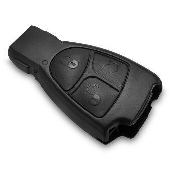 WiseBuy กุญแจรีโมท Keyless แทนรายการเชลล์สนใจเคส 3 ปุ่มสำหรับ Mercedes