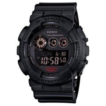 Casio G-Shock นาฬิกาข้อมือผู้ชาย สีดำ สายเรซิน รุ่น GD-120MB-1