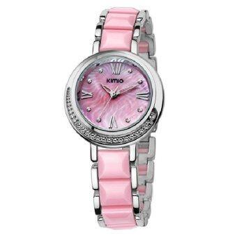 Kimio นาฬิกาข้อมือผู้หญิง K496L - สีชมพู