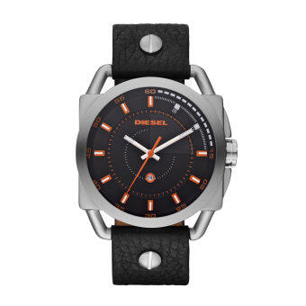 Diesel นาฬิกาผู้ชาย สายหนัง รุ่น DZ1578 - Black