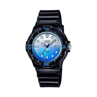 Casio Standard นาฬิกาข้อมือผู้หญิง สายเรซิ่น รุ่น LRW-200H-2EVDR (Ash Blue)
