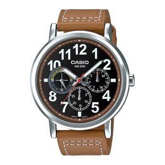 Casio Standard นาฬิกาข้อมือ ผู้ชาย สายหนัง รุ่น MTP-E309L-5A
