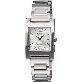 Casio นาฬิกาข้อมือ รุ่น LTP-1283D-7A - Silver/White (สินค้าขายดี)