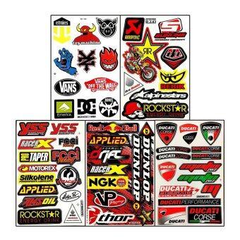 Stickers Die Cut Car Bike Helmet Truck ATV Racing Moto Graphic Kits Decals Vinyl Decal สติ๊กเกอร์ ติดรถ แต่งรถ รถยนต์ รถเก๋ง มอเตอร์ไซค์ ซิ่ง