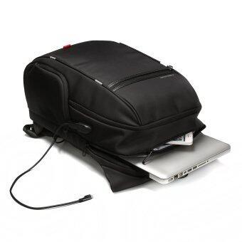 Kingsons 15.6 inches City Elite Bag Designer Laptop Backpack Water-Resistant Anti-Theft Laptop Rucksack with USB Charging Port Black (image 2)