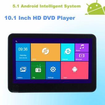 Mastersat Android 5.1 พร้อมจอ LCD 10.1'' และ DVD Player ทีวีติดพนักพิงหลัง Headrest LCD Monitor , Bluetooth , WIFI ,HDMI Output , FM
