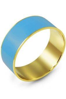 555jewelry กำไลสำหรับสุภาพบุรุษและสุภาพสตรี รุ่น FSBG65 (สี Yellow Gold)