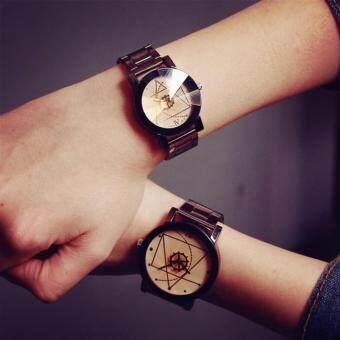 ขายดี Magic Watch นาฬิกาข้อมือผู้ชาย ผู้หญิงหน้าปัดเล็ก (สีขาวเบส) ขายถูก
