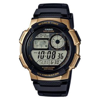 Casio Standard นาฬิกาข้อมือผู้ชาย สายเรซิ่น รุ่น AE-1000W-1A3