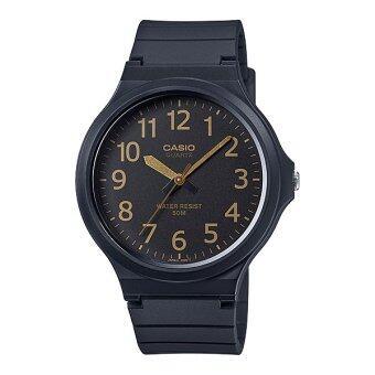 Casio Standard นาฬิกาข้อมือ สายเรซิน รุ่น MW-240-1B2
