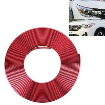 2m High Quality Car Headlight External Frame Decorative Strip Car Wheel Hub Trim Mouldings Shining Decoration Strip Automobile Network Decorative Strip ...