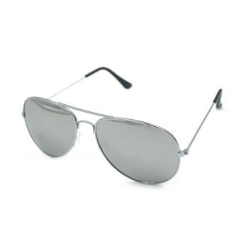 UV400 แว่นตากันแดดแว่นตาผู้ชายเสื้อโลหะทองเลขที่ 2