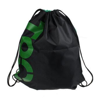 ห้องออกกำลังกายสระว่ายน้ำหาดทรายกันน้ำถุงหูรูดกระเป๋าเป้กระเป๋าผ้าใบกีฬาสีเขียว