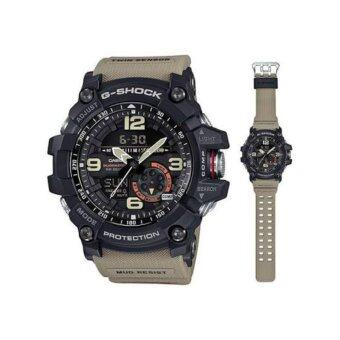 CASIO G-SHOCK รุ่น GG-1000-1A5DR (CMG) นาฬิกาข้อมือ สายเรซิ่น สีกากี