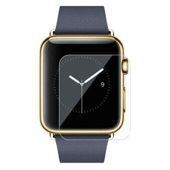 ELENXS สำหรับ Apple Watch Sport รุ่น 38/42มมแรงทางอารมณ์โดยเฉพาะความโปร่งใสหนังแก้วร่มเกล้า 38มม