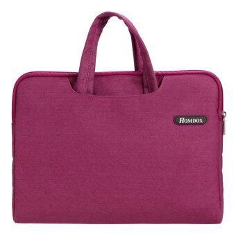 ไซเบอร์ซอฟท์ Netbook กระเป๋าโน้ตบุ๊คกระเป๋าแขนเสื้อเคส+อำจัดการสำหรับ 39.62ซม 35.81ซม 36.83ซมโน้ตบุ๊ค (สีแดง)