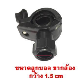 ขาตั้ง กล้องบันทึกหน้ารถ ติดกับ กระจกมองหลัง สีดำ ขายึดกล้องติดรถยนต์ กับก้านกระจกมองหลัง (หัวสไลด์) (STAND CAR CAMERA) 84-racing