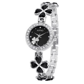 Kimio นาฬิกาข้อมือผู้หญิง - รุ่น K456L-สีดำ