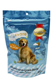 SmartHeart ขนมสุนัข สูตรเสริมสร้างกระดูกและข้อต่อ 100g.x2