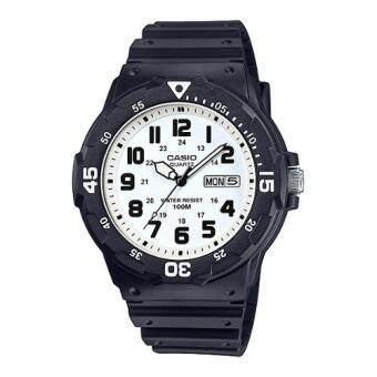 Casio Standard นาฬิกาข้อมือผู้ชาย สายเรซิ่น รุ่น MRW-200H-7B