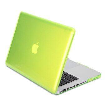 GMYLE เคส MacBook Pro 13 นิ้ว พร้อม CD-Drive (สีเหลืองนีออน)