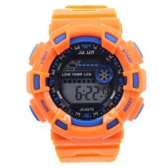 S SPORT นาฬิกาข้อมือ Unisex ได้ทั้งชายและใส่หญิง - GP9209 (Orange/ Blue)