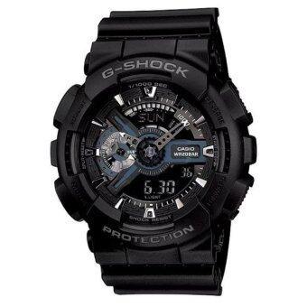 Casio G-Shock นาฬิกาข้อมือผู้ชาย สายเรซิน รุ่น Ga-110-1Bdr (Black)