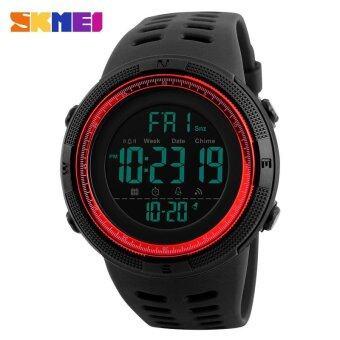 ของผู้ชายยี่ห้อ SKMEI กีฬานับถอยหลังเวลาคู่ปลุก Chrono ดิจิตอล 50 เมตรกันน้ำ Wristwatch1251 - นานาชาติ