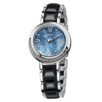 Kimio นาฬิกาข้อมือผู้หญิง รุ่น K496M (Black)