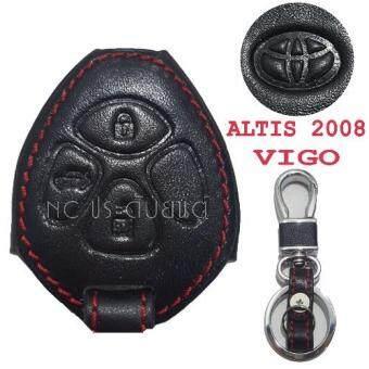 ซองกุญแจหนังแท้ 3D ALTIS2008,VIGO