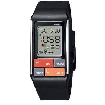 นาฬิกาข้อมือสำหรับผู้หญิง Casio Poptone รุ่น LDF-50-1DR (Black)