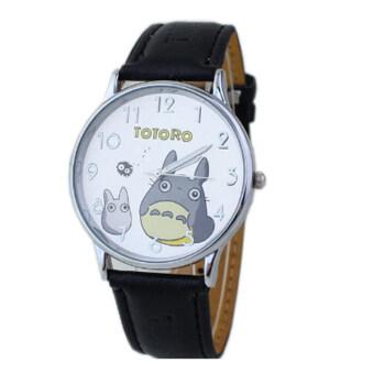 ขายร้อนใหม่เข็มขัดแฟชั่นนาฬิกาควอทซ์การ์ตูน TOTORO เวอร์ชันนาฬิกาเด็กถาม