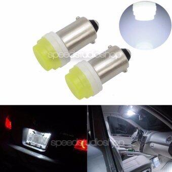 LED หลอดไฟ COB High power ขั๊ว BA9S 1 คู่ ( สีขาว )