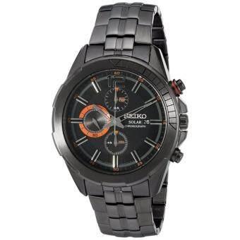 นาฬิกาข้อมือผู้ชาย Seiko Solar รุ่น SSC383 - ฺBlack