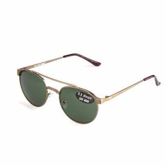 Harga Aj Morgan Zeke Antique Gold Sunglasses 88387 (Gold)