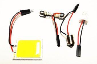 ไฟเพดาน ห้องโดยสาร เทคโนโลยีหลอด Chip SMD ความสว่างสูง (แสงสีขาว)