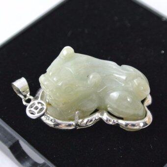 Pearl Jewelry จี้หยก กบคาบเหรียญ สิ่งมงคลตามหลักของจีน