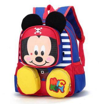 Harga Kindergarten Children Bag Backpack Boys And Girls 1-6 Years Old Baby Child Bag Lovely - intl