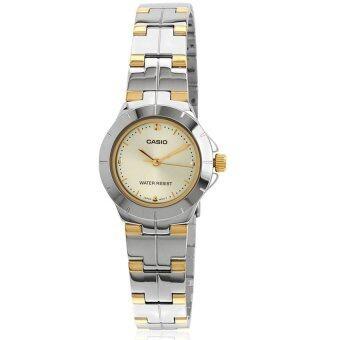 Casio Standard นาฬิกาข้อมือผู้หญิง สายสแตนเลส รุ่น LTP-1242SG-9